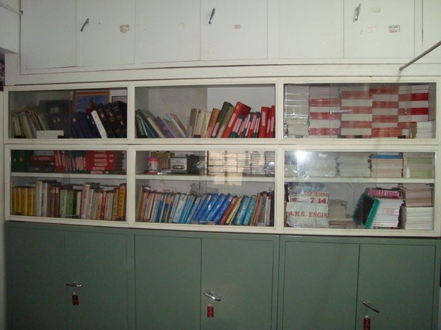 Library at the institute